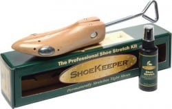 Shoekeeper Men's and Women's Shoe Stretcher & Spray Combo