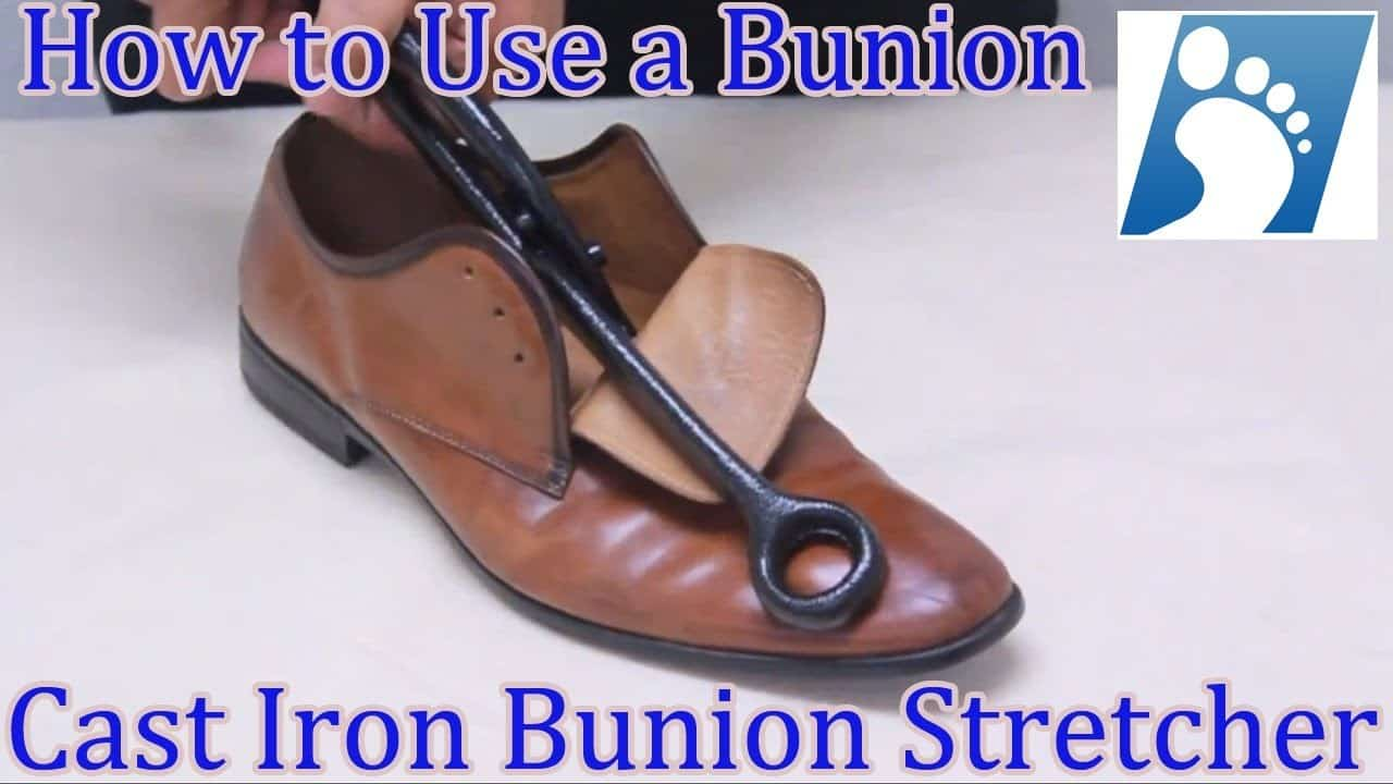 bunion shoe stretcher