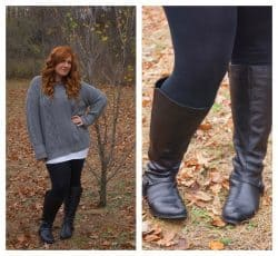 calf boots for plus size girls