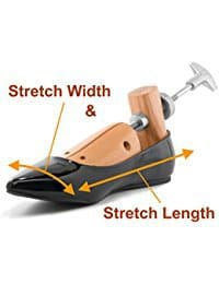 How a 2-way shoe stretcher works 2