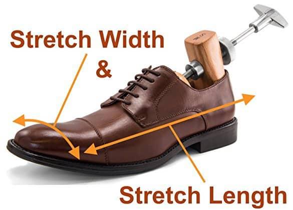 8ec27d3e5a Premium 3″- 6″ Women's High Heel Shoe Stretcher Set + 4 oz. Shoe Stretch  Spray