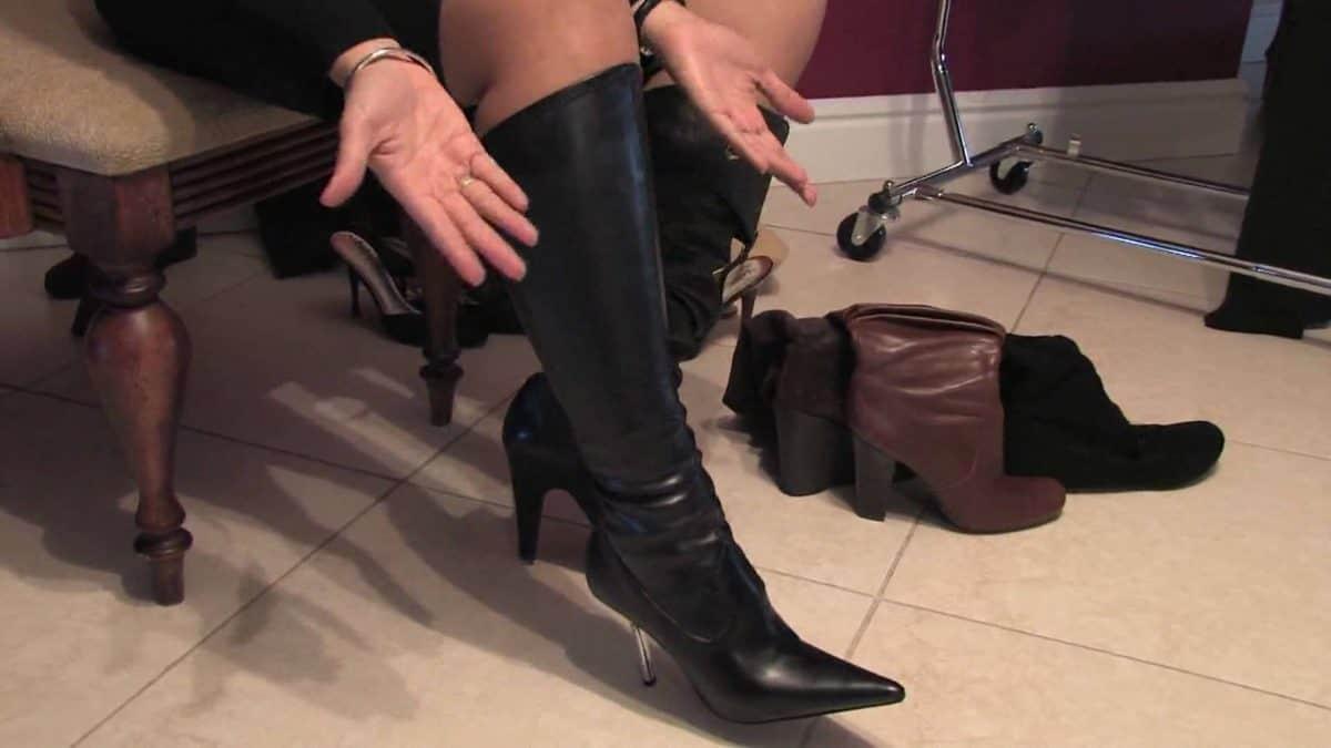 women wearing boots